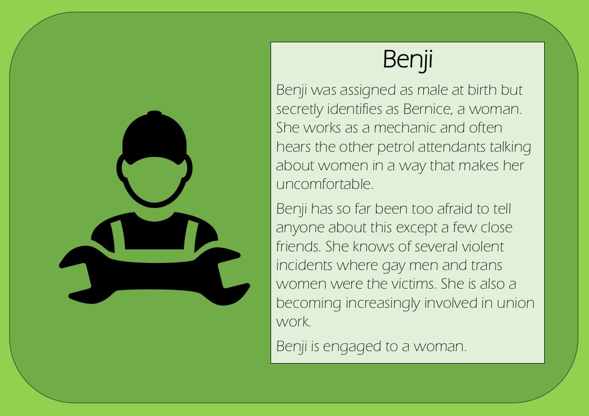 Character 5 benji